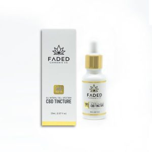 Faded Cannabis Co. CBD Tincture