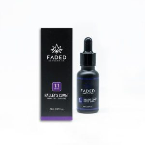 Faded Cannabis Co. 1:1 Cbd – Thc Tincture Halley's Comet