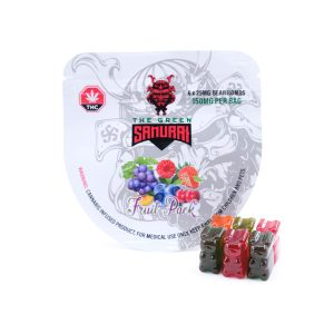 Buy FRUIT PACK BEAR BOMB 150MG THC BY THE GREEN SAMURAI