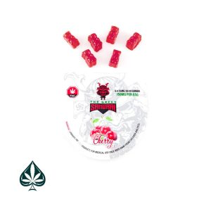Buy CHERRY BEAR BOMB 150MG THC BY THE GREEN SAMURAI
