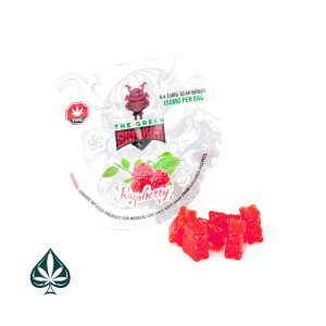 Buy RASPBERRY BEAR BOMB 150MG THC BY THE GREEN SAMURAI