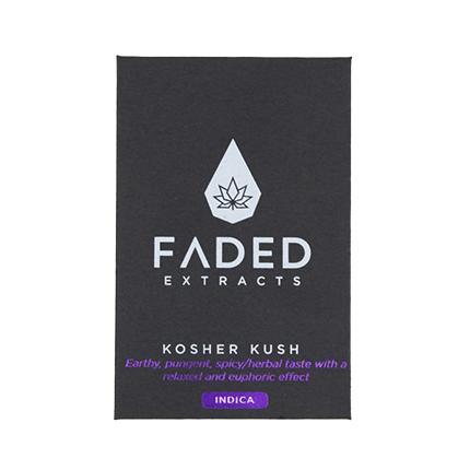 FADED EXTRACT SHATTERS Kosher Kush