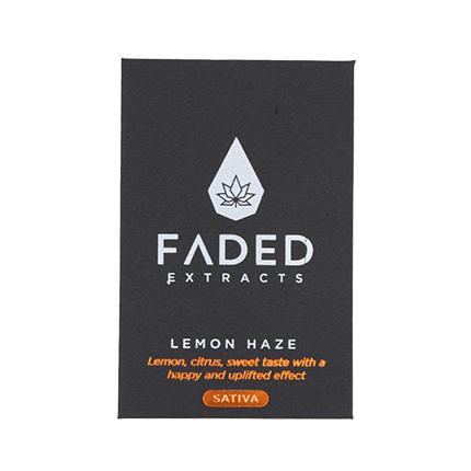 FADED EXTRACT SHATTERS Lemon Haze