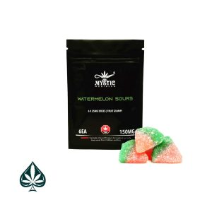 Buy Mystic Edibles Gummy Bears Watermelon Sours