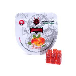 PEACH BEAR BOMB-Peach Bear Bomb 150mg Thc By The Green Samurai