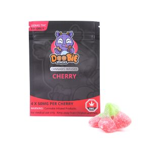 Sour Cherry 200MG THC Blaster By Doobie Snacks