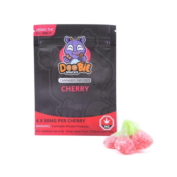 Sour Cherry 200MG THC Blaster By Doobie Snacks
