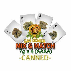 Gas Demon Mix & Match 7g x 4