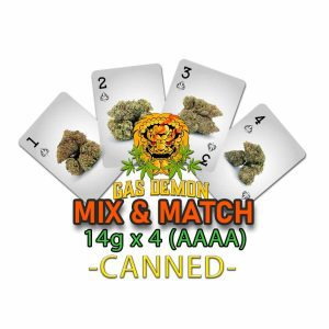 Gas Demon Mix & Match 14g x 4