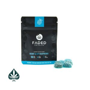 Buy Faded Edibles Berry Blue Raspberry