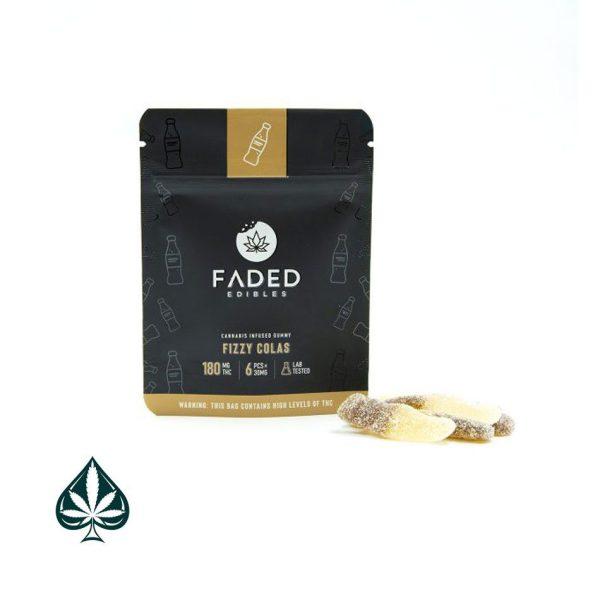Buy Faded Edibles Fizzy Colas