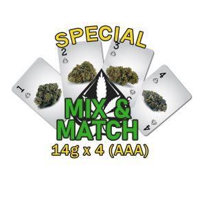 Special Mix & Match 14g x 4