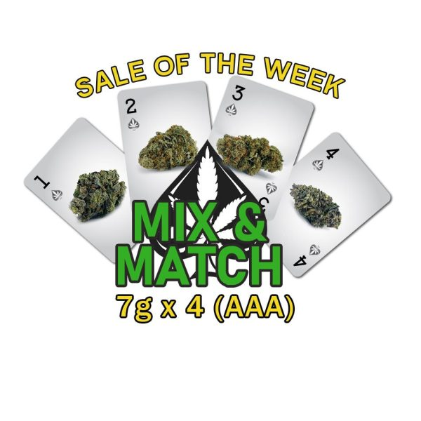 Special Mix & Match 7g x 4 AAA