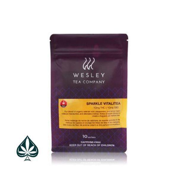 Weslsey Tea - Sparkle Vitalitea - 1:1 10mg CBD/10mg THC