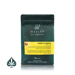 Buy Wesley Tea - Sunny Claritea - 1:1 10mg CBD/10mg THC