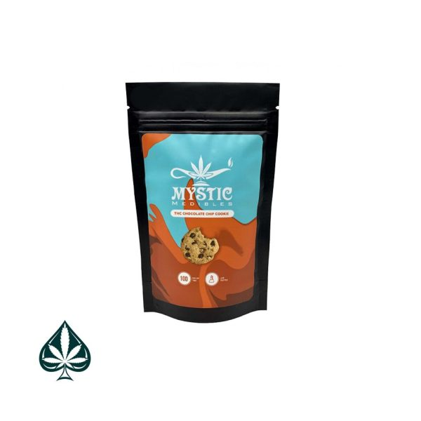 Mystic Medibles Chocolate Chip Cookies - 100mg THC