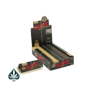 Buy Raw Black Edition Single Wide Rolling Papers