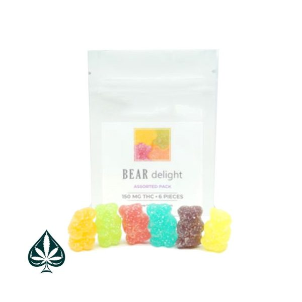 Aura Gummy Bears - THC - Indica -150mg