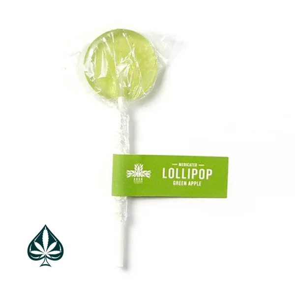 Buy Lollipops Green Apple 100MG THC By Kush Kitchen