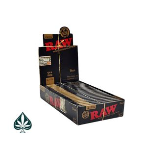 Buy Raw Black Edition 1 1/4 Rolling Papers
