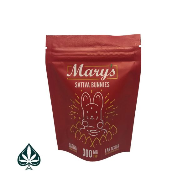 Mary's West Coast Indica Teddies - 300mg THC