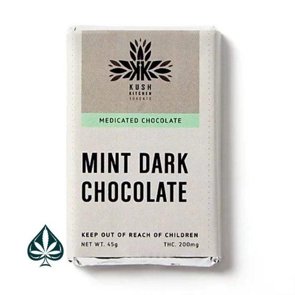 Buy Chocolate Bars - Mint Chocolate - 200MG THC By Kush Kitchen