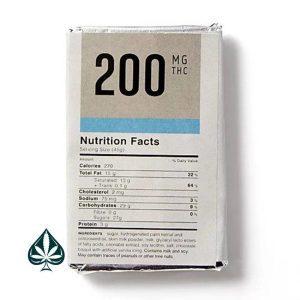 Buy CHOCOLATE BAR - COOKIES & CREAM 200MG THC BY KUSH KITCHEN