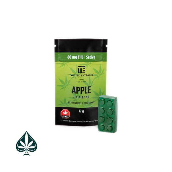 Green Apple Jelly Bomb By Twisted Extracts