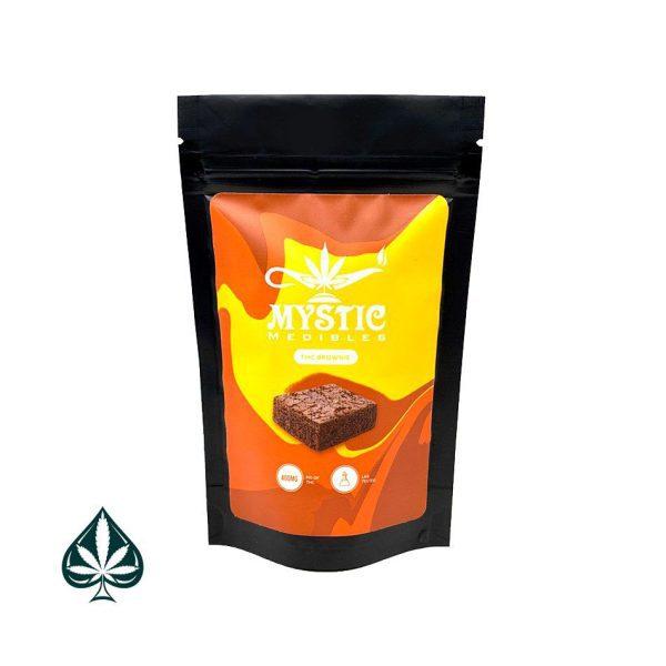 MYSTIC MEDIBLES THC BROWNIE