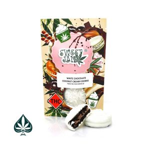 WHITE COCONUT CREAM COOKIES BY SWEET JANE - 150MG