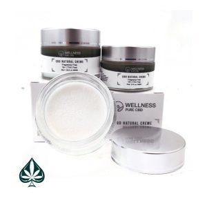 Wellness Pure CBD Topical Creme 300MG - 500MG