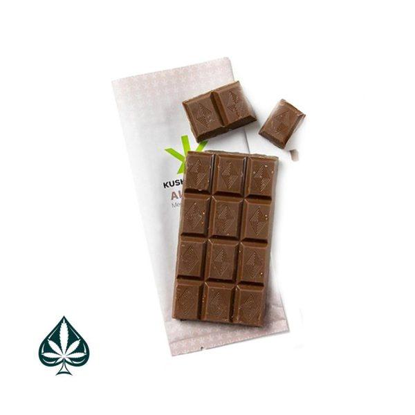 KUSH KITCHEN CHOCOLATE & ALMOND 400MG THC