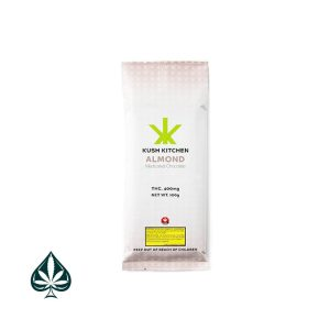 KUSH KITCHEN CHOCOLATE & ALMOND 400MG THC