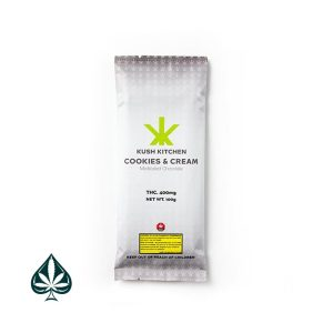 KUSH KITCHEN COOKIES & CREAM 400MG THC