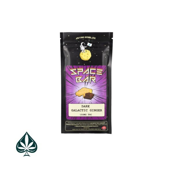 Buy Dark Galactic Ginger 150MG THC By Astro Edibles
