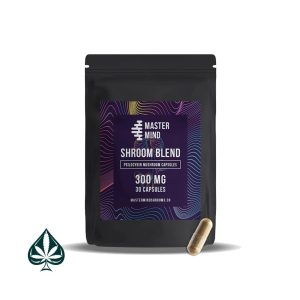 Buy Mastermind 300mg Shroom Blend Capsules Beginner Pack ( 30 Count )