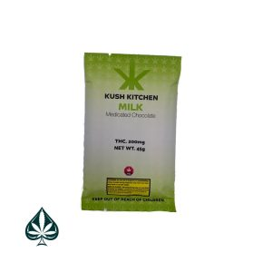 Kush Kitchen Milk Medicated Chocolate