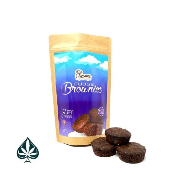 Buy Dreamy Delite Edibles Two-Bite Brownies 200MG THC