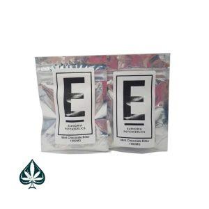 Buy Euphoria Psychedelics Mint Chocolate Bites 1000MG