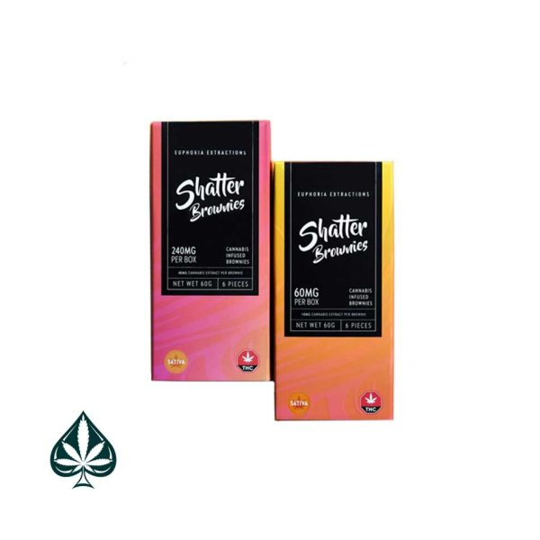 Buy Euphoria Shatter Brownies 60MG THC