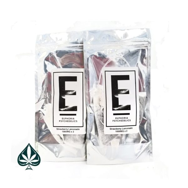 Buy Euphoria Psychedelics Strawberry Lemonade Tea 2000MG