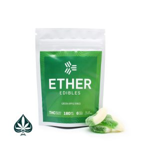 Shop Ether Edibles Green Apple Rings