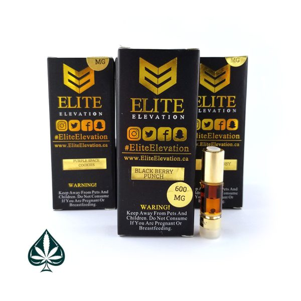Blackberry Berry Punch 600MG Cartridge By Elite Elevation