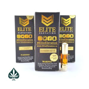 Blueberry Widow 600MG Cartridge By Elite Elevation