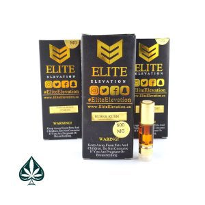 Bubba Kush 600MG Cartridge By Elite Elevation