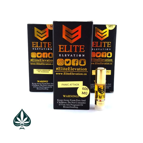 Panic Attack 600MG Cartridge By Elite Elevation