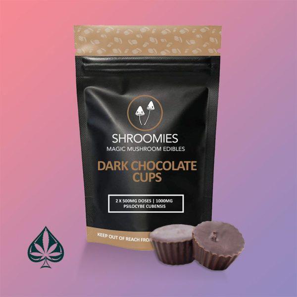 Buy Shroomies Dark Chocolate Cups Online
