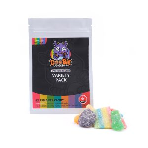 Variety Pack 200MG THC by Doobie Snacks