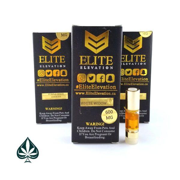 White Widow 600MG Cartridge By Elite Elevation