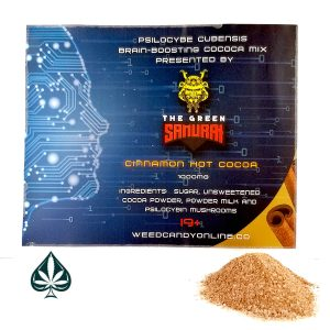 Psilocybe Cubensis Brain Boosting Cocoa Mix Presented By The Green Samurai
